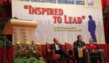 """Young Executives Seminar 2011 – """"Inspired to Lead"""""""